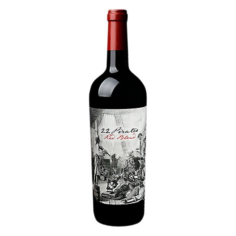 22 Pirates Red Blend Wine - 750 Ml