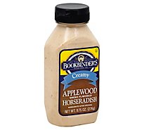 Bookbinders Horseradish Applwd Smk Cr - 9.75 Oz