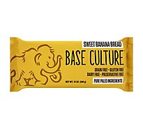 Base Culture Bread Banana Loaf - 12 Oz