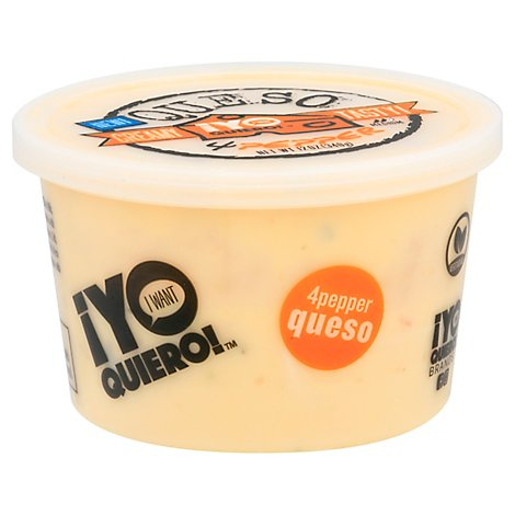 Yo Quiero Yellow Queso With Peppers - 12 Oz