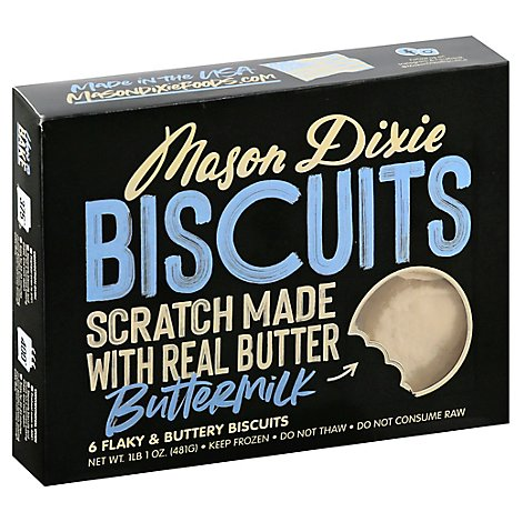 Mason Dixie Biscuit Co. Biscuits Buttermilk Box - 17 Oz
