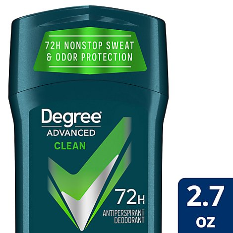 Degree For Men Motionsense Anti perspirant Stick Clean - 2.7 Oz