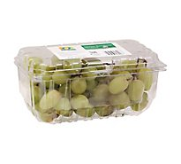 O Organics Organic Green Seedless Grapes - 2 Lb