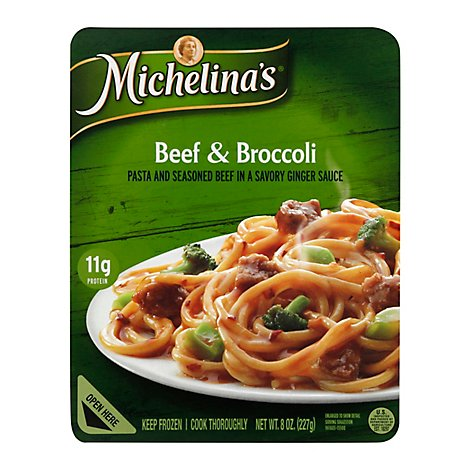 Michelinas Beef And Broccoli With Pasta - 8 Oz