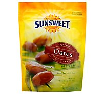 Sunsweet Dates Pitted Pouch - 8 Oz