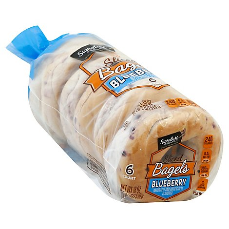 Signature SELECT Bagels Blueberry - 18 Oz