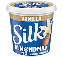 Silk Yogurt Alternative Almondmilk Vanilla - 24 Oz
