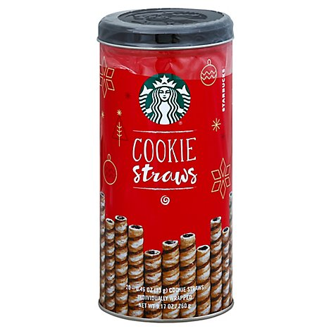 Starbucks Cookie Straws - 9.17 Oz