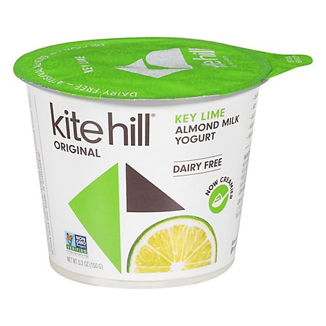 Kite Hill Yogurt Artisan Almond Milk Key Lime Cup - 5.3 Oz