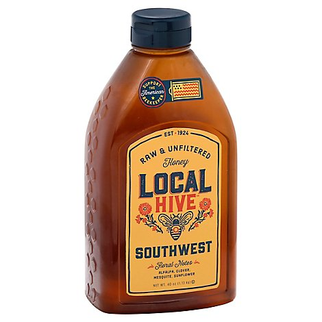 Local Hive Honey Raw & Unfiltered Southwest - 40 Oz