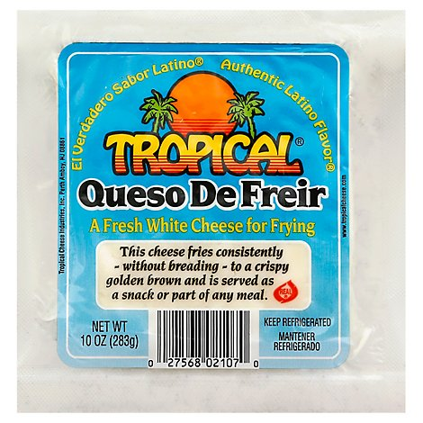 Tropical Cheese Queso De Freir Wrapper - 10 Oz