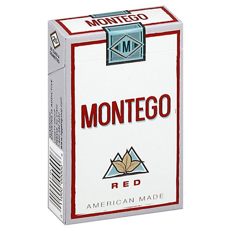 Montego Red King Box - Pack