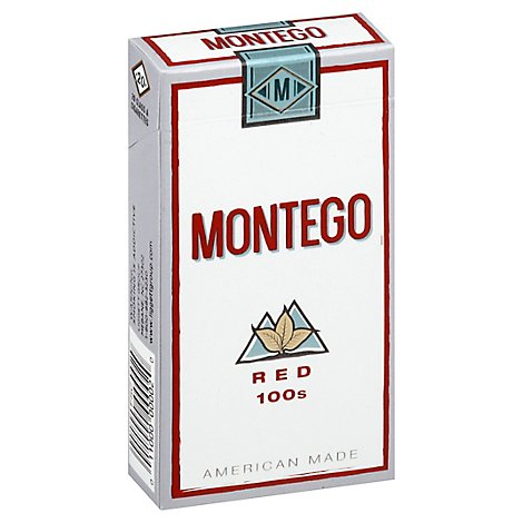 Montego Red 100s Box - Pack