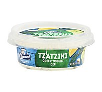 Opaa! Dip Greek Yogurt Tzatziki Tub - 8 Oz