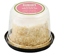 Rubicon Bakers Vegan Vanilla Cake 4inch - Each