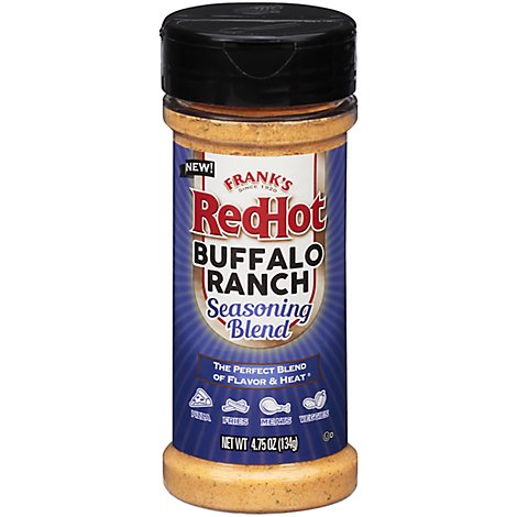 Franks RedHot Seasoning Blend Buffalo Ranch - 4.75 Oz