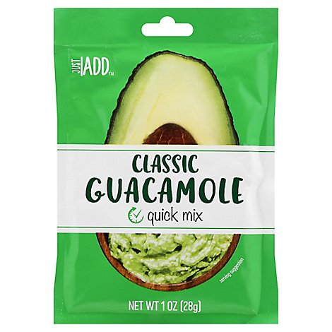 Just Add Classic Guacamole Quick Mix - 1 Oz