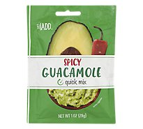 Just Add Spicy Guacamole Quick Mix - 1 Oz