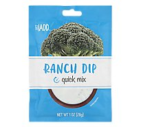 Just Add Quick Mix Ranch - 1 Oz