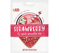 Just Add Smoothie Mix Strawberry - 1.79 Oz