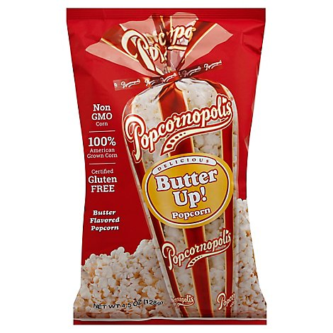 Popcornop Popcorn Butter Up - 4.5 Oz