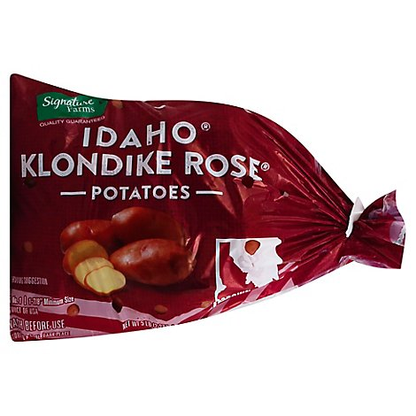 Signature Farms Potatoes Klondike Rose Idaho - 5 Lb