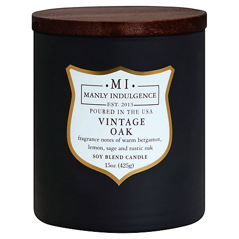 Manly Indulgence Vintage Oak 15 Ounce - Each