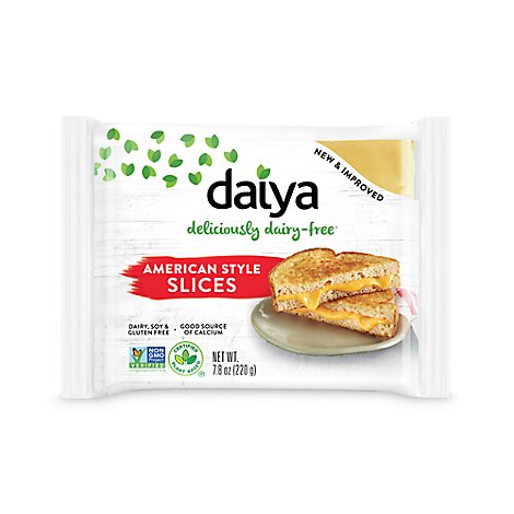 Daiya Cheese Slices American Style Vacuum Packed - 7.8 Oz