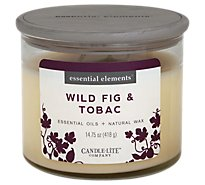 Candle Lite Esel Wild Fig Tobacco - Each