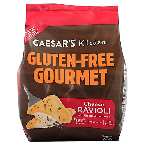 Caesars Kitchen Gourmet Gluten Free Ravioli Cheese - 10 Oz