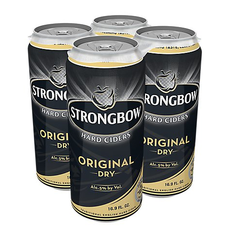 Strongbow Dry Hard Cider Can - 4-16.9 Fl. Oz.