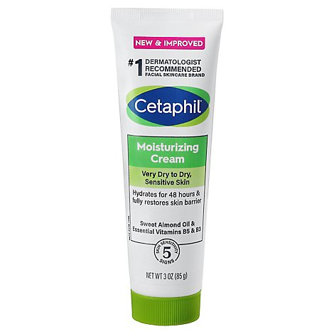 Cetaphil Cream Moisturizing - 3 Oz