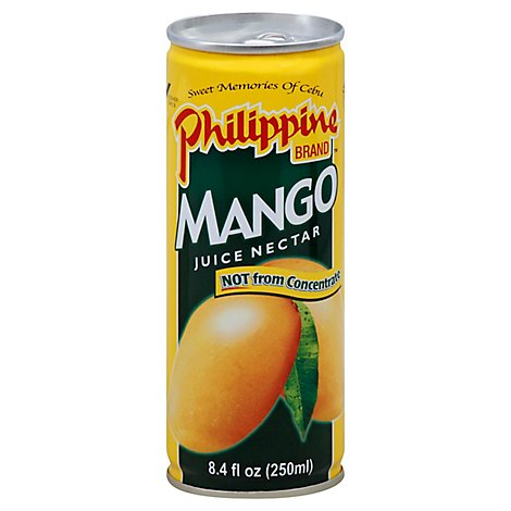 Philippine Brand Juice Nectar Mango Can - 8.4 Fl. Oz.