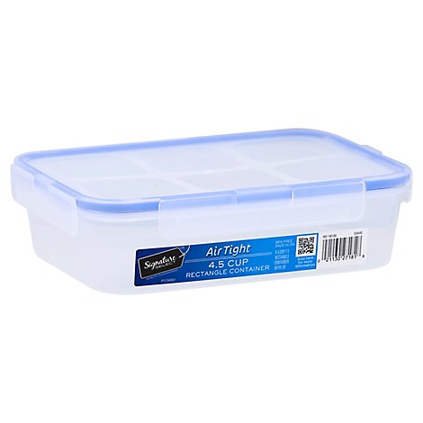 Signature SELECT Container Rectangle AirTight 4.5 Cup - Each