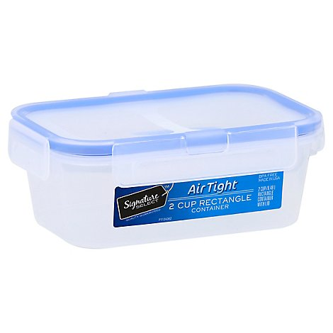 Signature SELECT Container Rectangle AirTight 2 Cup - Each