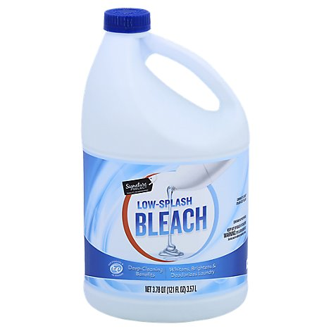 Signature SELECT Bleach Low Splash Regular - 121 Fl. Oz.