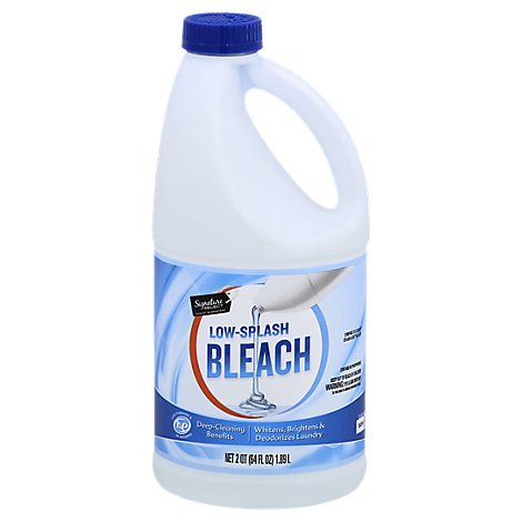 Signature SELECT Bleach Low Splash Regular - 64 Fl. Oz.