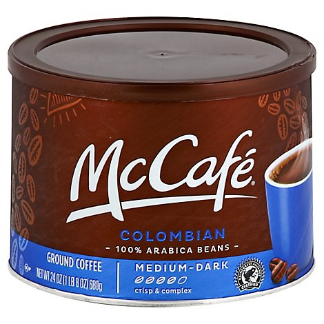 Mc Cafe Coffee Colombian Gr - 24 Oz