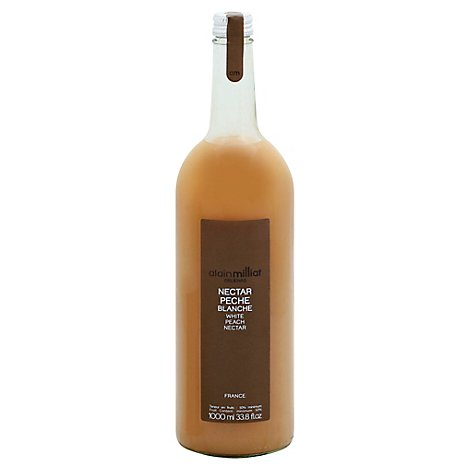 Alain Milliat White Peach Juice - 33.8 Fl. Oz.