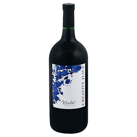 Creative Juice Merlot Wine - 1.5 Liter