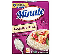 Minute Rice Jasmine Box - 12 Oz