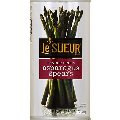 Le Sueur Asparagus Spears Tender Green Extra Large Can - 19 Oz