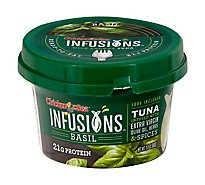 Chk Of The Sea Infusions Tuna Basil - 2.8 Oz