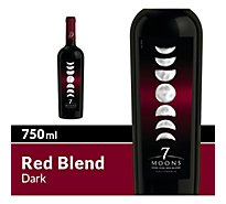 7 Moons Wine Red Dark Blend - 750 Ml