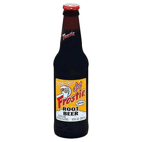 Frostie Soda Root Beer Diet Bottle - 12 Fl. Oz.