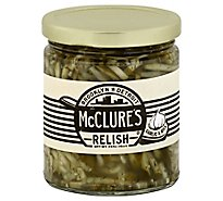 McClures Relish Garlic & Dill Jar - 9 Oz