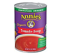 Annies Homegrown Soup Organic Tomato Can - 14.3 Oz