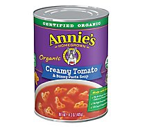 Annies Homegrown Soup Organic Creamy Tomato & Bunny Pasta Can - 14.3 Oz
