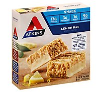 Atkins Snack Bar Lemon Box - 5-1.41 Oz