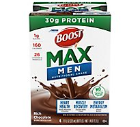 BOOST Max Nutritional Shake Rich Chocolate - 4-11 Fl. Oz.